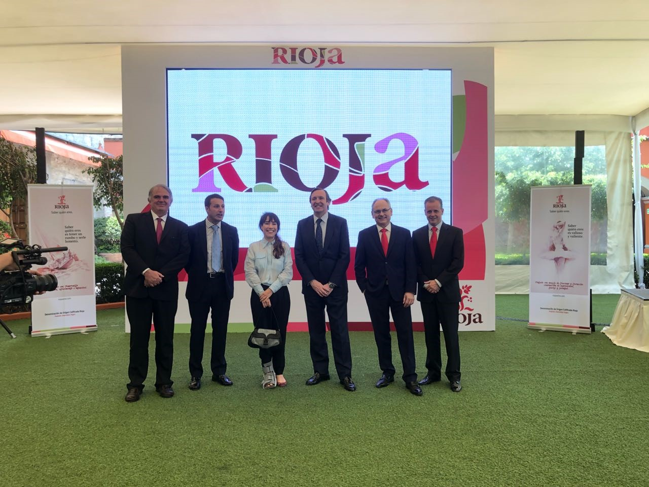 An amazing welcome for Rioja's new image in Mexico
