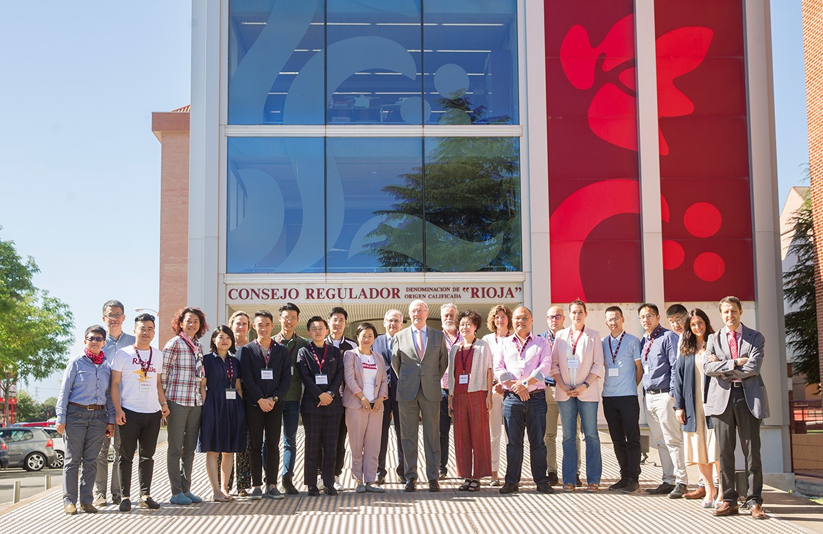 Official Rioja Wine Educators Programme visits China