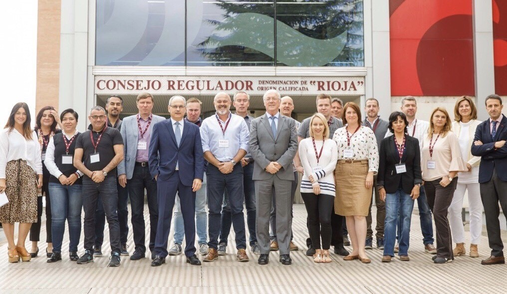 A visit from the third group of the Official Rioja Wine Educators Programme